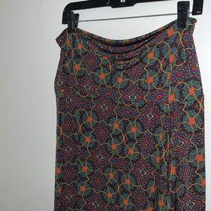 LULAROE - Multicolored Maxi Skirt